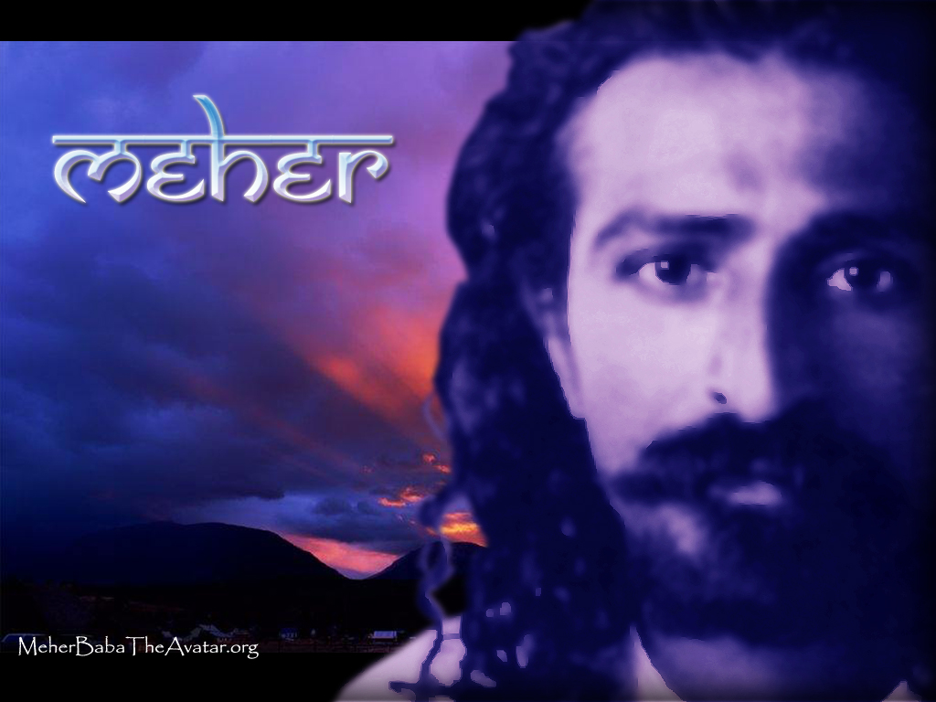 Meher Baba on your Desktop!